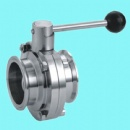 Hygienic Triclamp Butterfly Valve