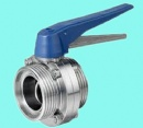 Thread Butterfly Valve Fiber Handle